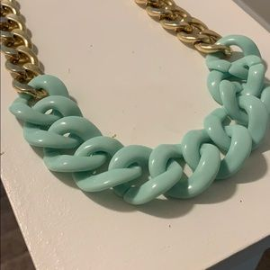 Jewelry - Mint and Gold Necklace
